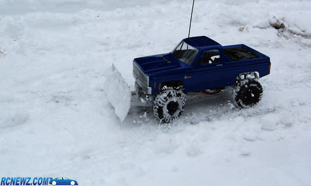 Tamiya High Lift snow plow