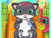 لعبة  طبيب قطط