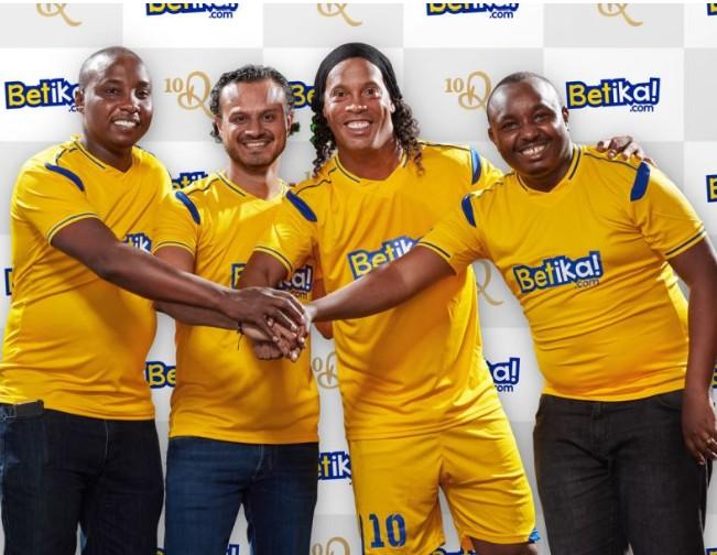 Kenya's Betika signs Ronaldinho