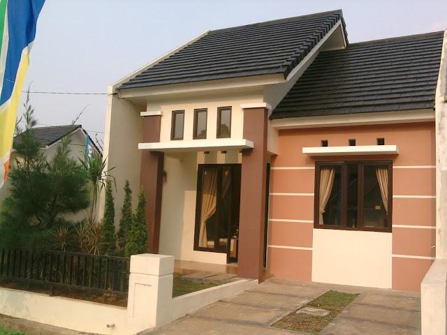 contoh teras rumah type 36