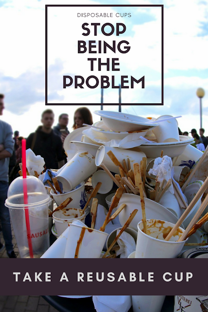 Stop using disposable cups and take a reusable one instead