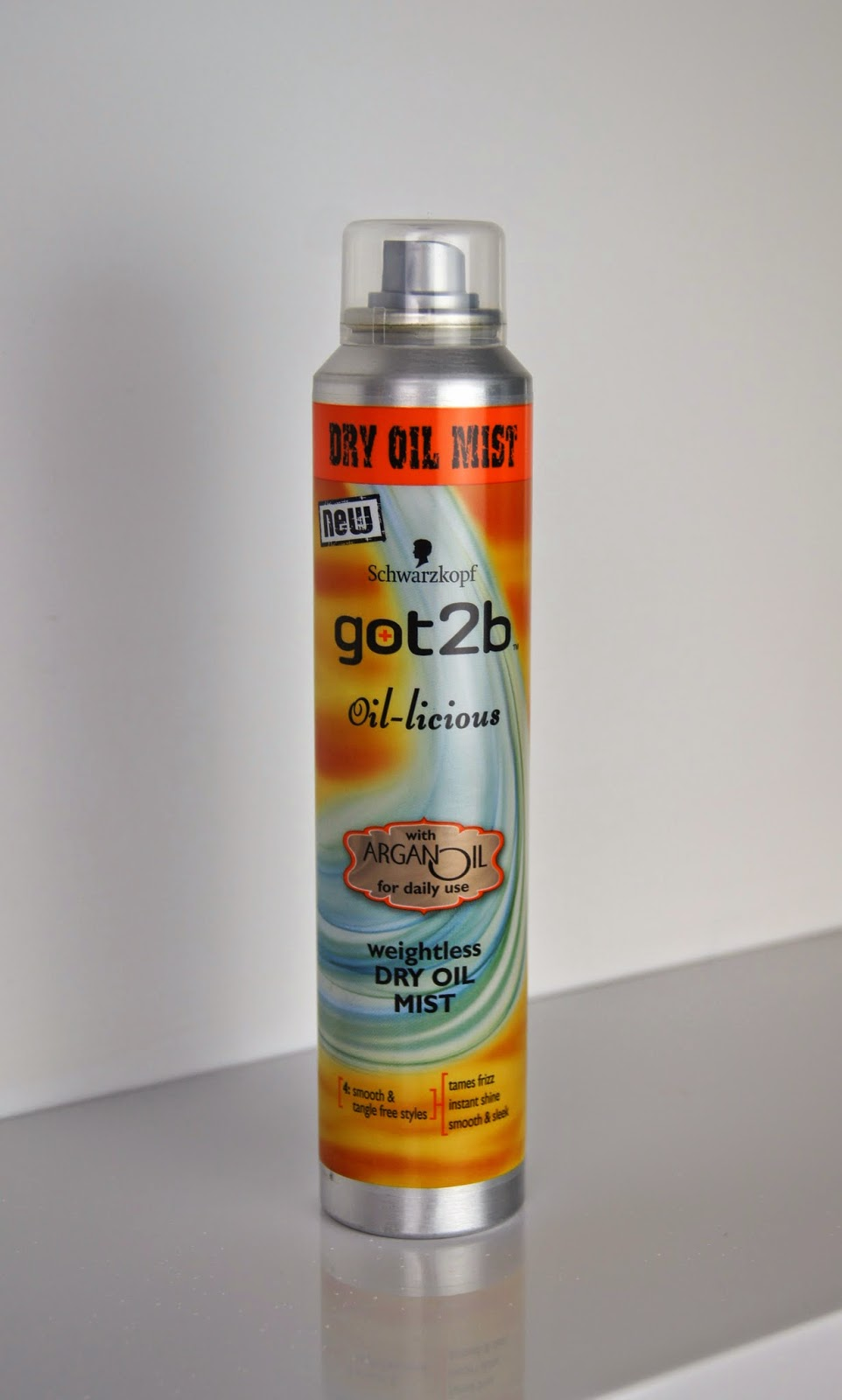 scwarzkopf got2be dry oil hair mist review
