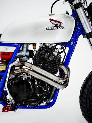 """Honda XR600R """"Tracker"""" #34"""