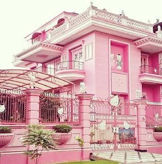 Gambar Rumah Hello Kitty Asli 3