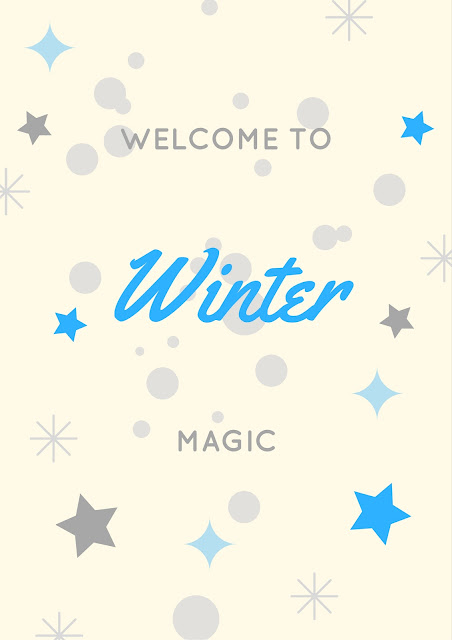 Welcome to Winter - with free printables