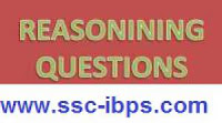 Reasoning Quiz For SSC CGL, SSC CHSl And Railway Ntpc Exams- 2016