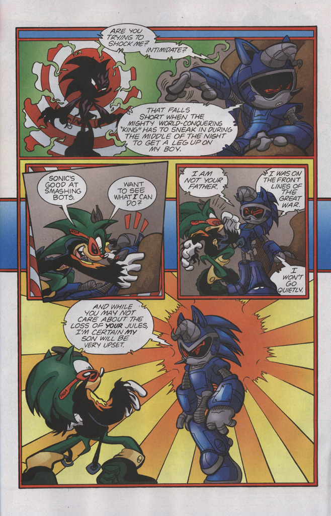Read online Sonic The Hedgehog comic -  Issue #192 - 24