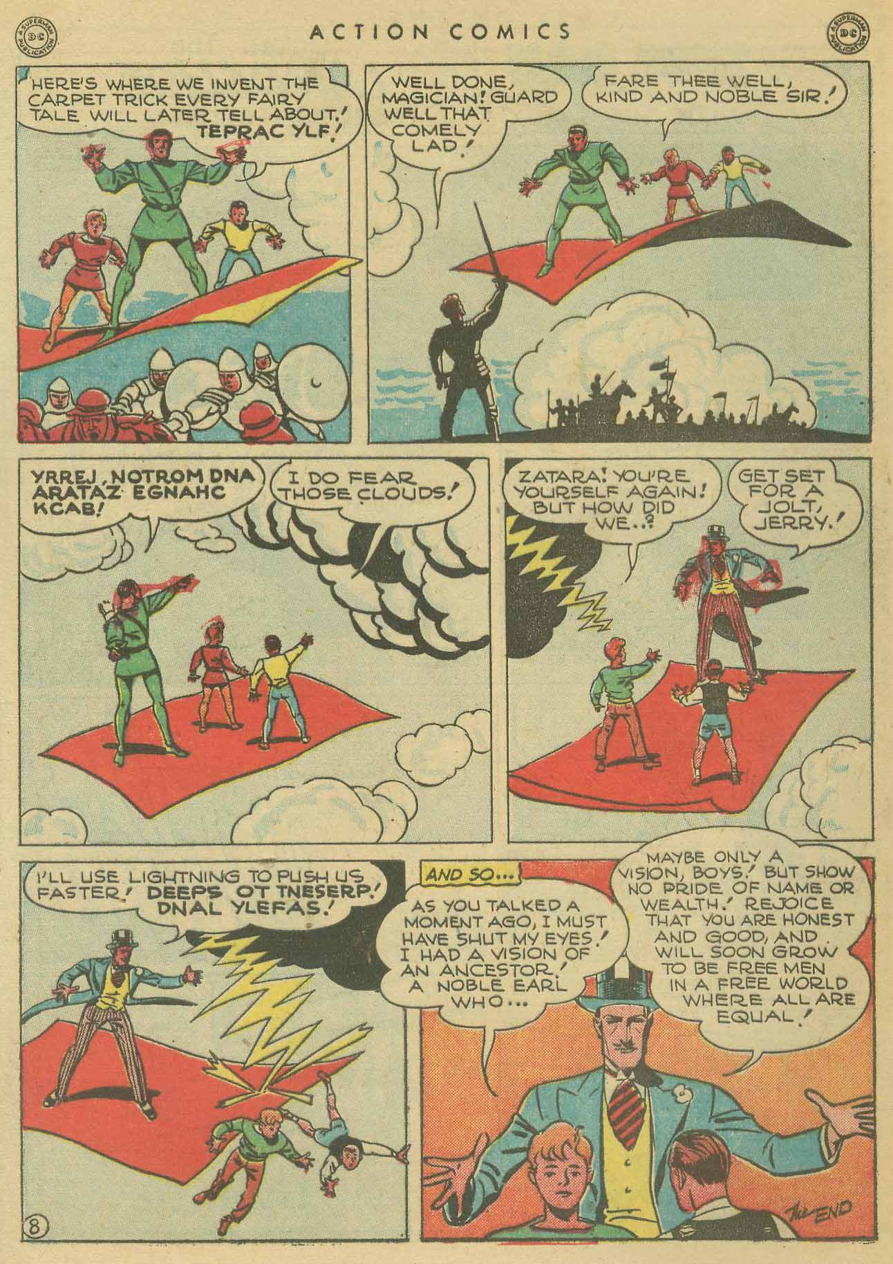 Read online Action Comics (1938) comic -  Issue #102 - 48