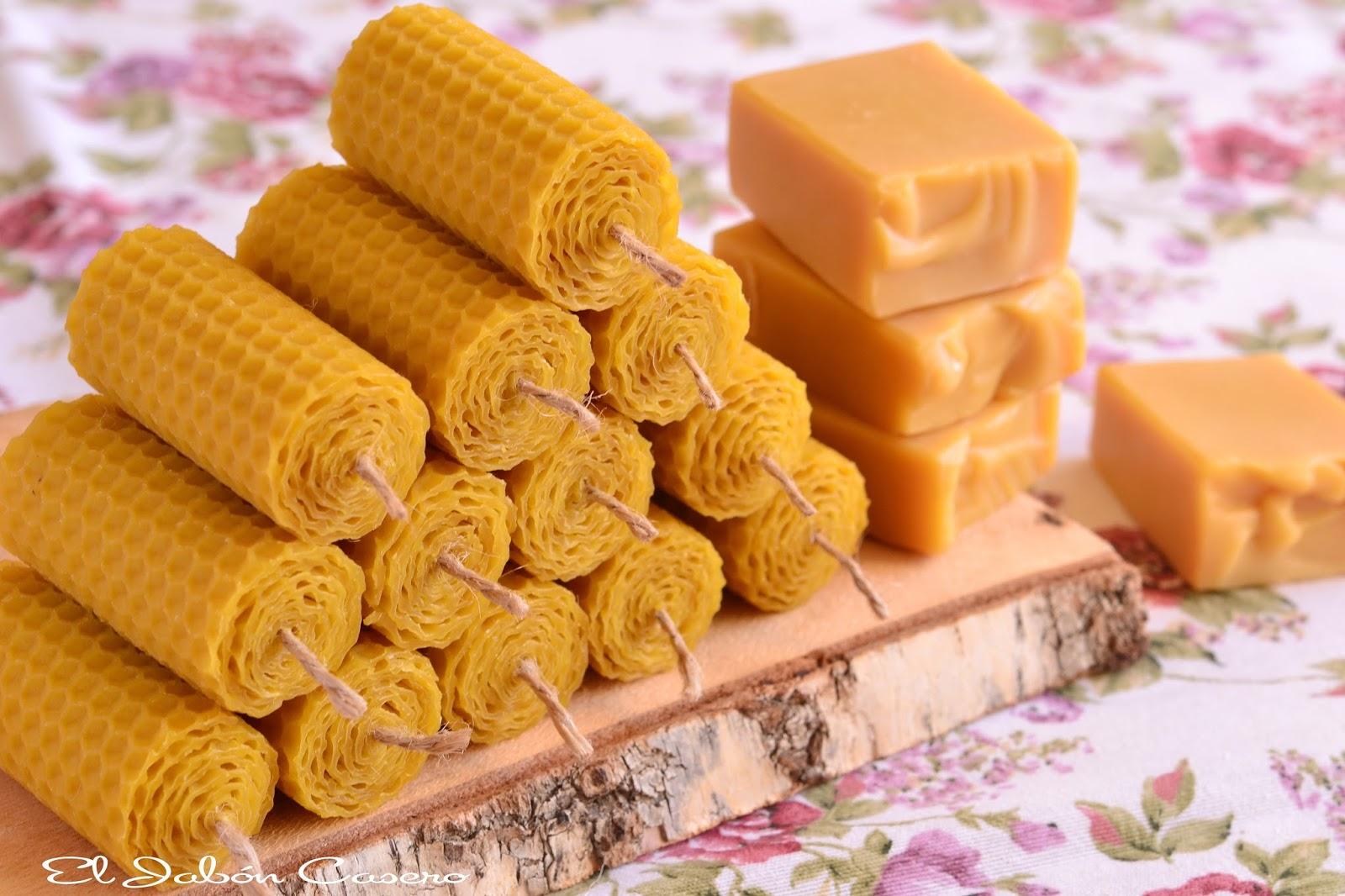 El jab n casero detalles de boda velas de miel y jabones - Velas de miel ...