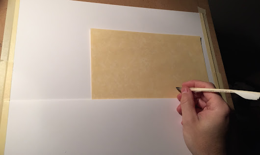 Building a Calligrapher's Writing Slope