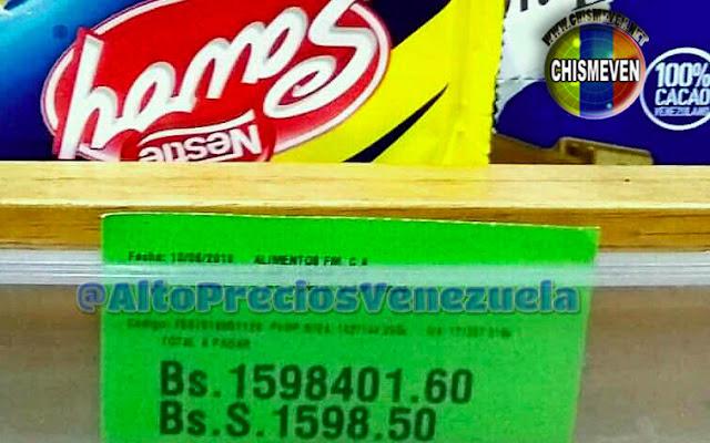 Sueldo mínimo en Venezuela sube a 3 millones de bolívares