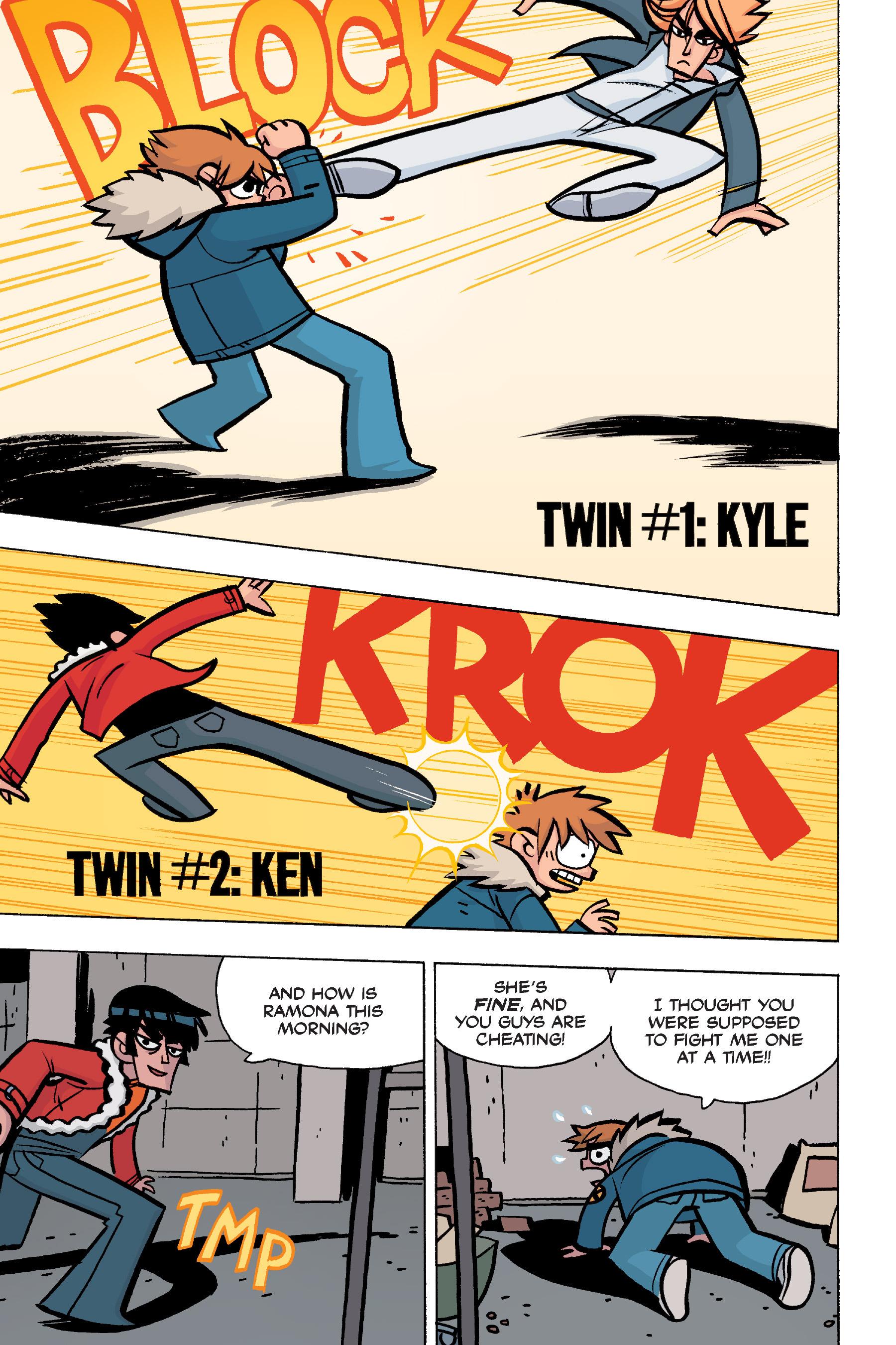 Read online Scott Pilgrim comic -  Issue #5 - 119