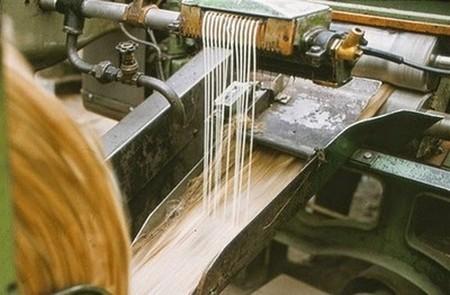 Emulsion applied on jute