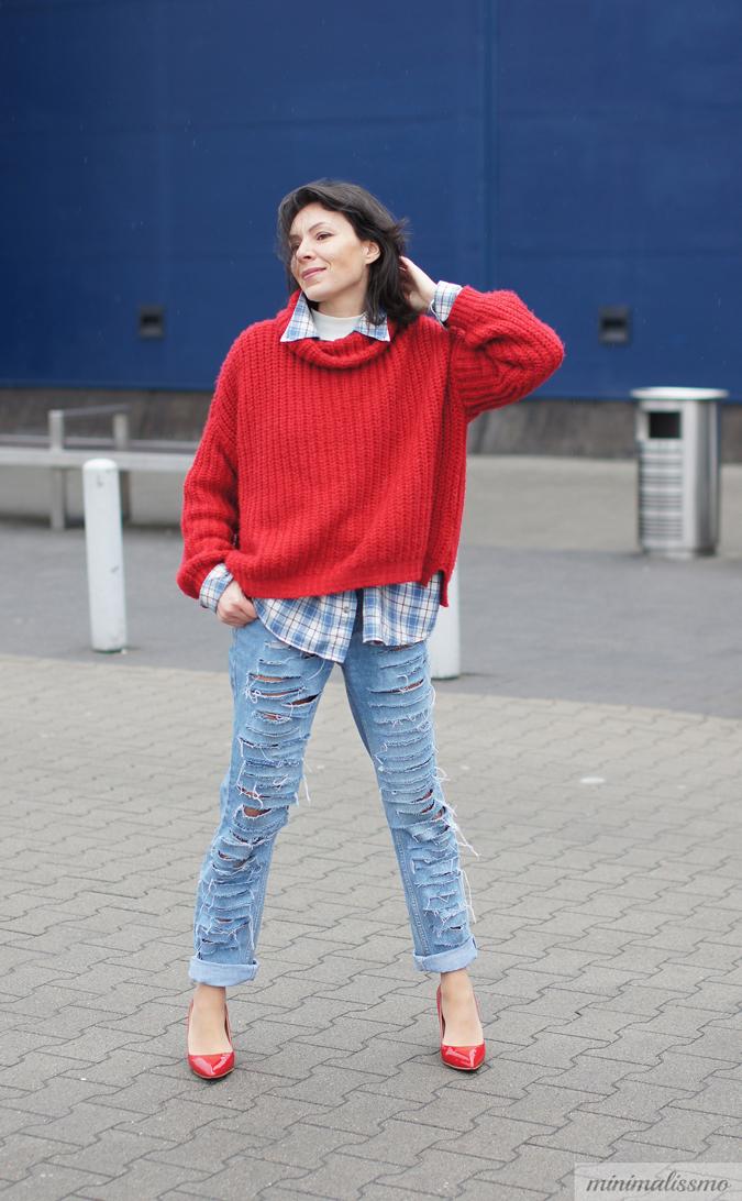 Jak zrobić podarte jeansy DIY
