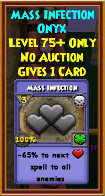 Mass Infection - Wizard101 Card-Giving Jewel Guide