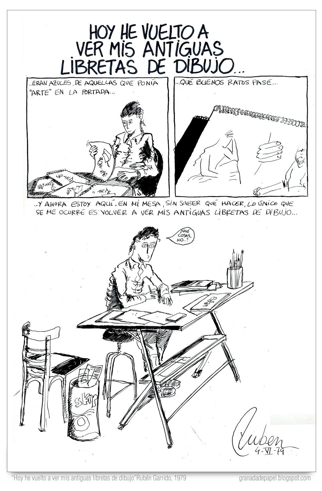 Granada de papel: Dos historietas inéditas