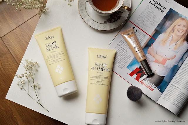 szampon L'Biotica Professional Therapy Repair