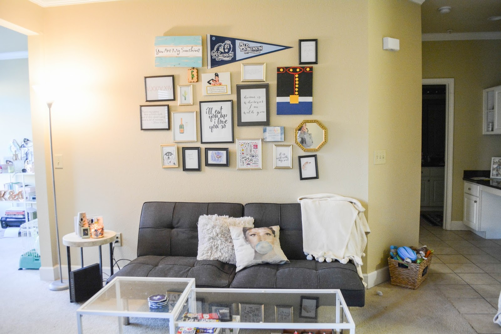Apartment Tour: Living Room