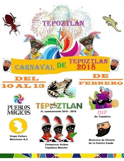 carnaval tepoztlán 2018