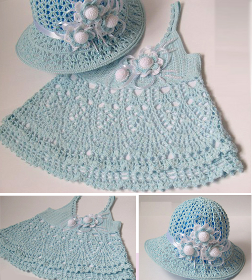 Baby Dress and Hat Pattern