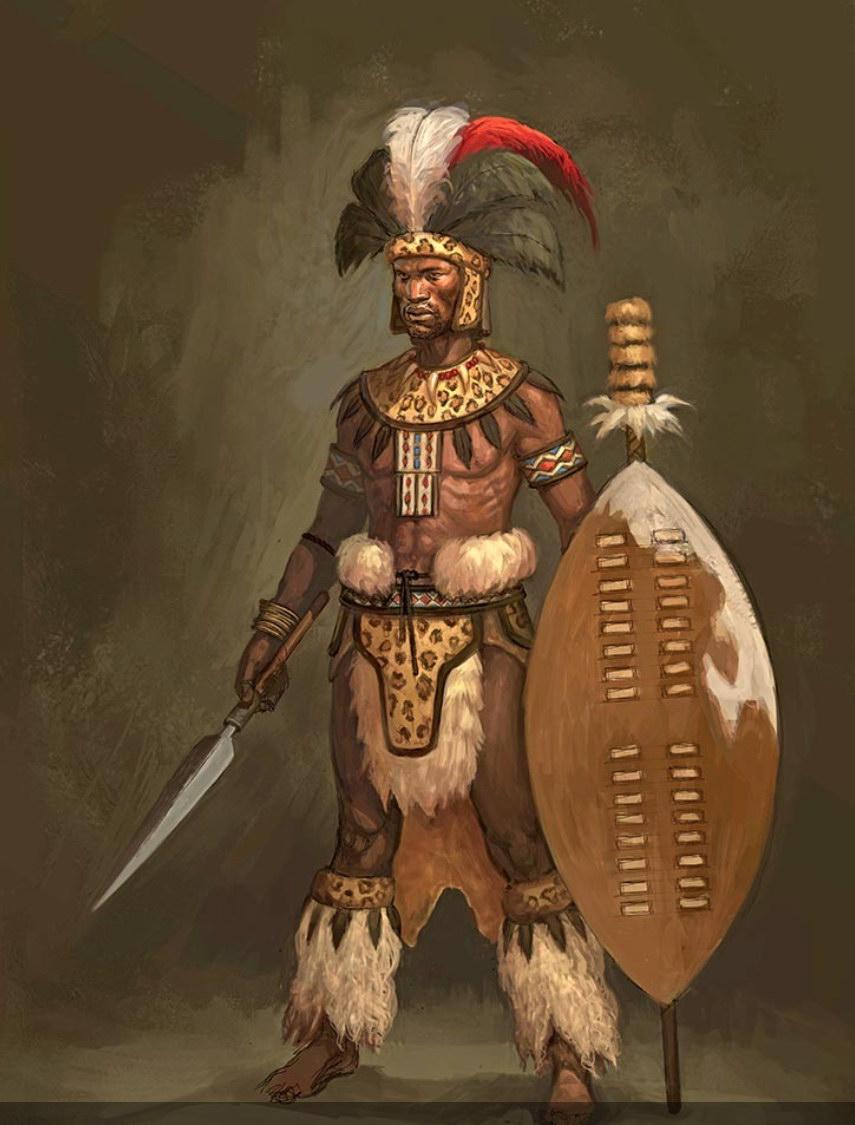 Marco negro shaka zulu o general africano shaka zulu o general africano stopboris Gallery