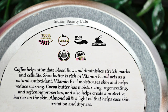 Burst of Happyness Coffee Body Butterclaims