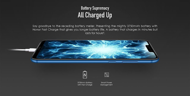 Honor Play Battery