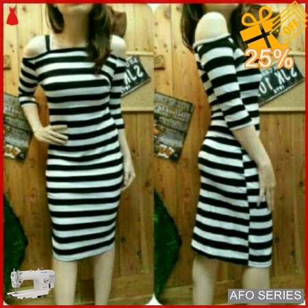 AFO336 Model Fashion Dress Salursia Modis Murah BMGShop