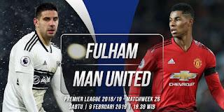 اون لاين مشاهدة مباراة مانشستر يونايتد وفولهام بث مباشر 9-2-2019 الدوري الانجليزي الممتاز اليوم بدون تقطيع
