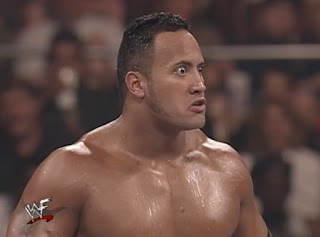 WWE / WWF - Fully Loaded 1998 - The Rock is ready for his match with Triple H