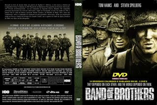 BAND OF BROTHERS - A SÉRIE COMPLETA - GUERRA