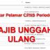 669 Pelamar CPNS Gelombang II Wajib Unggah Ulang, Cek Disini
