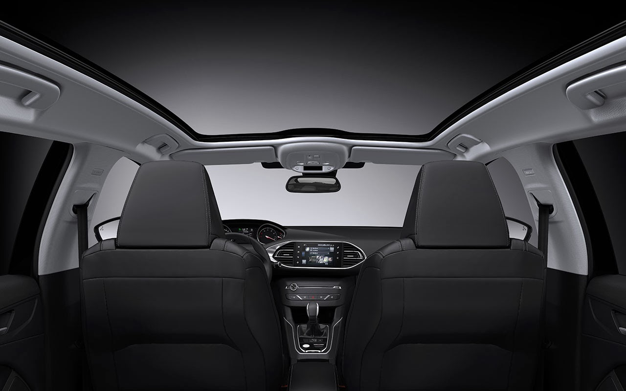 New Peugeot 308 SW - Sleek and Spacious sun roof
