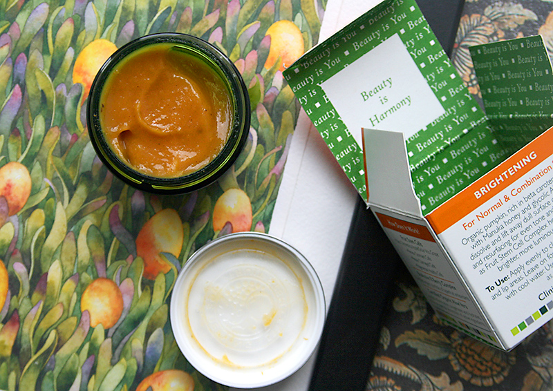 Гликолевая маска с тыквой и медом Andalou Naturals Glycolic Mask Pumpkin Honey Brightening