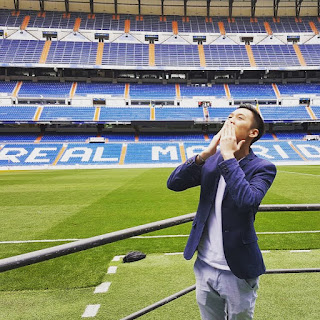 Alaric Ong in Real Madrid, Spain