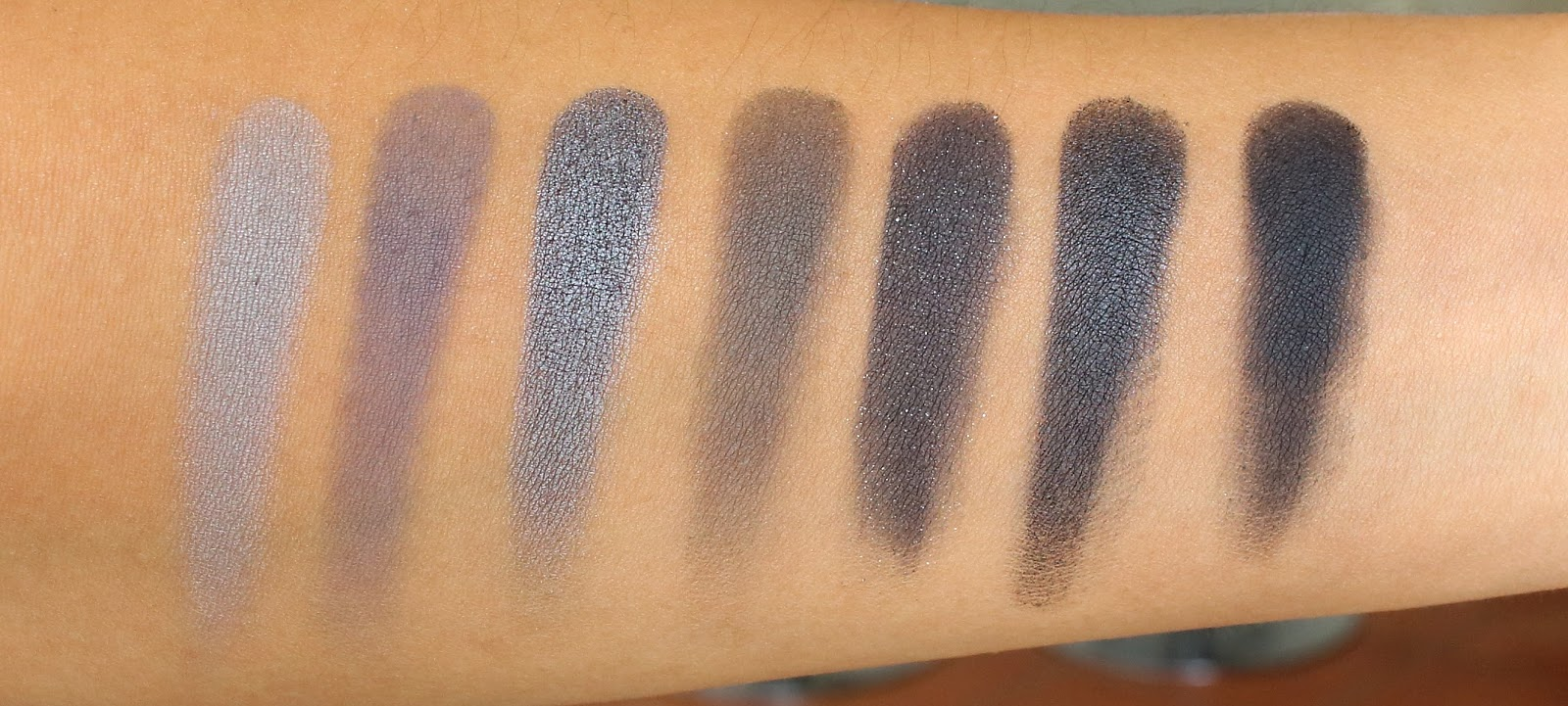Morphe 35k eyeshadow palette review beauty in bold - Fifth Row
