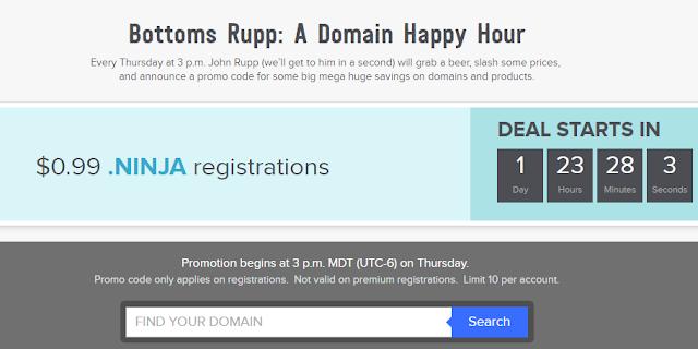 تخفيضات دومينات شركة نيم دوت كوم name.com