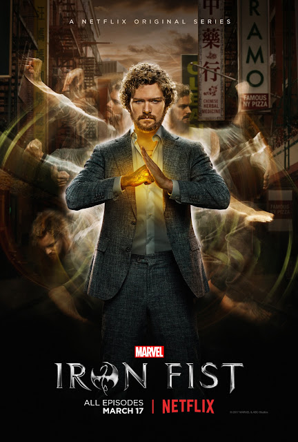 Marvel's Iron Fist Teaser One Sheet Television Poster