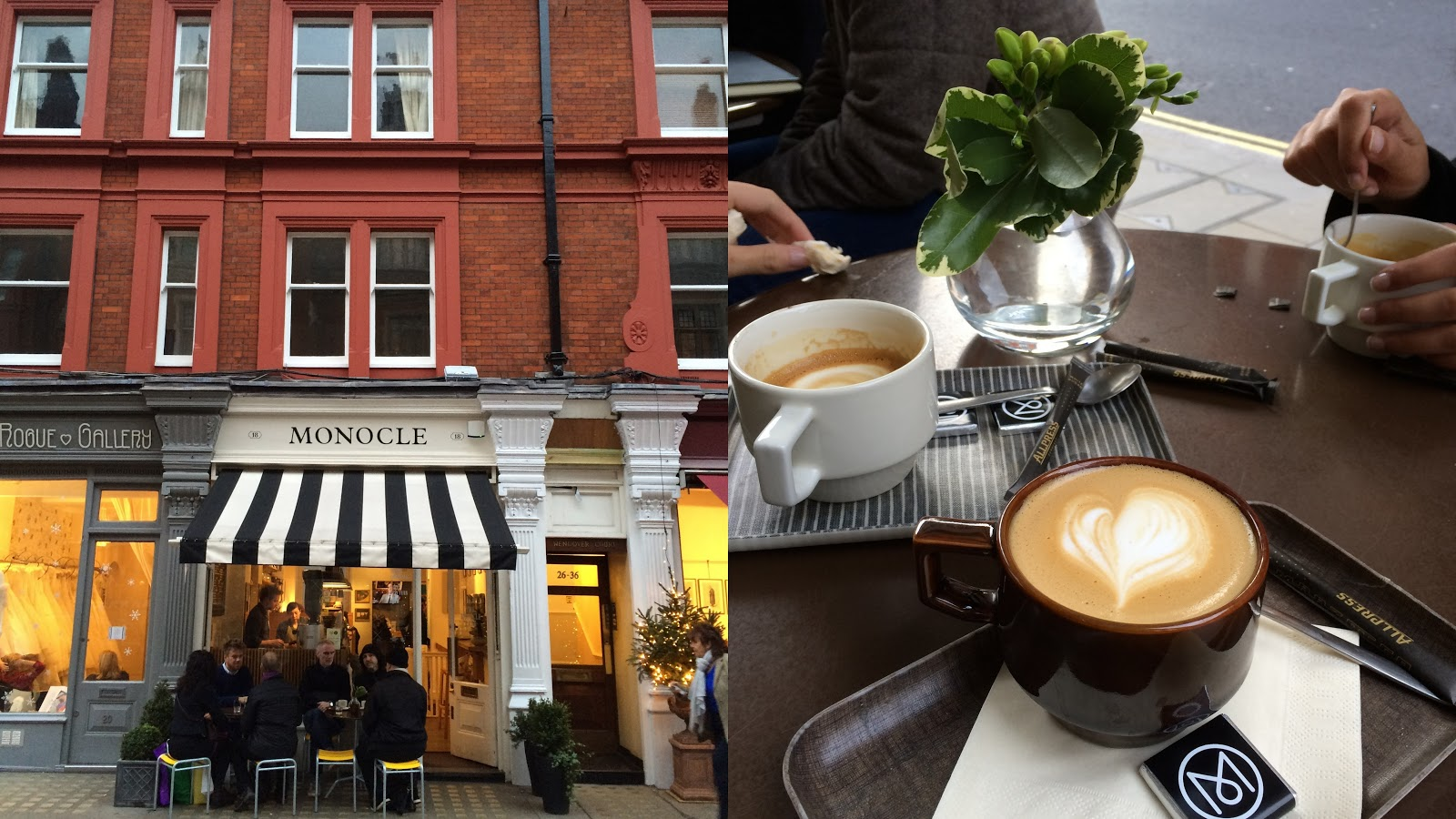 Monocle Cafe London Chiltern street
