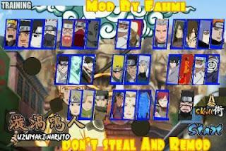 Naruto Naruto Senki mod apk Shinobi's Flame 1