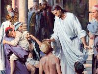 Resultado de imagem para imagem de jesus cuidando de alguem