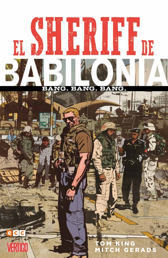 El Sheriff de Babilonia, de Tom King - Edición Integral