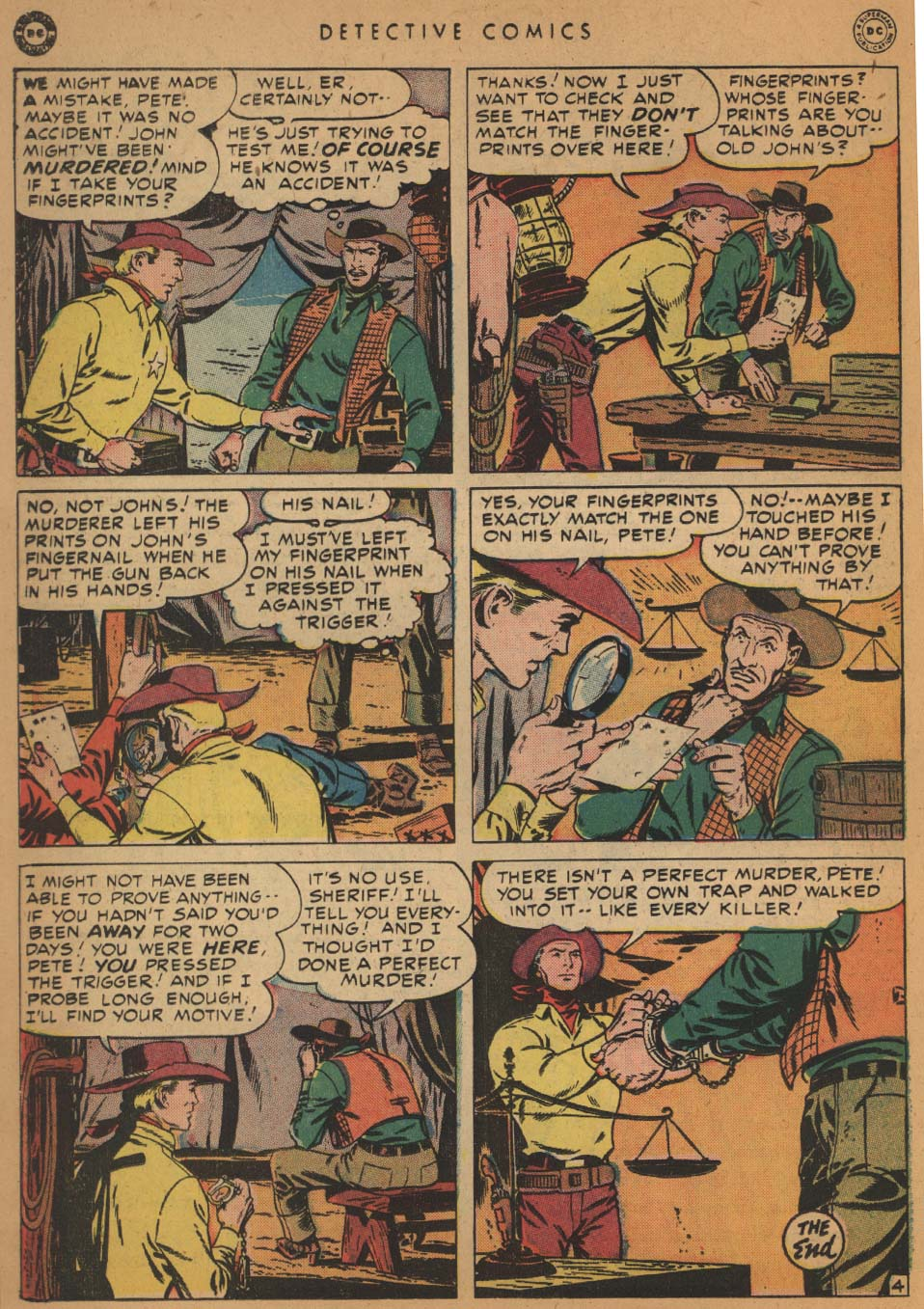 Read online Detective Comics (1937) comic -  Issue #152 - 36