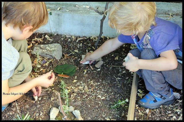 activité nature jeu enfant