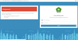 http://emispendis.kemenag.go.id/emis_madrasah_mts/ Alamat Website EMIS MTs Terbaru