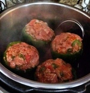 Instant Pot Stuffed Bell Peppers