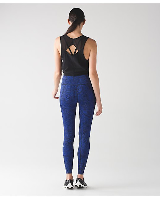 lululemon sapphire-paisley like-nothing-tight