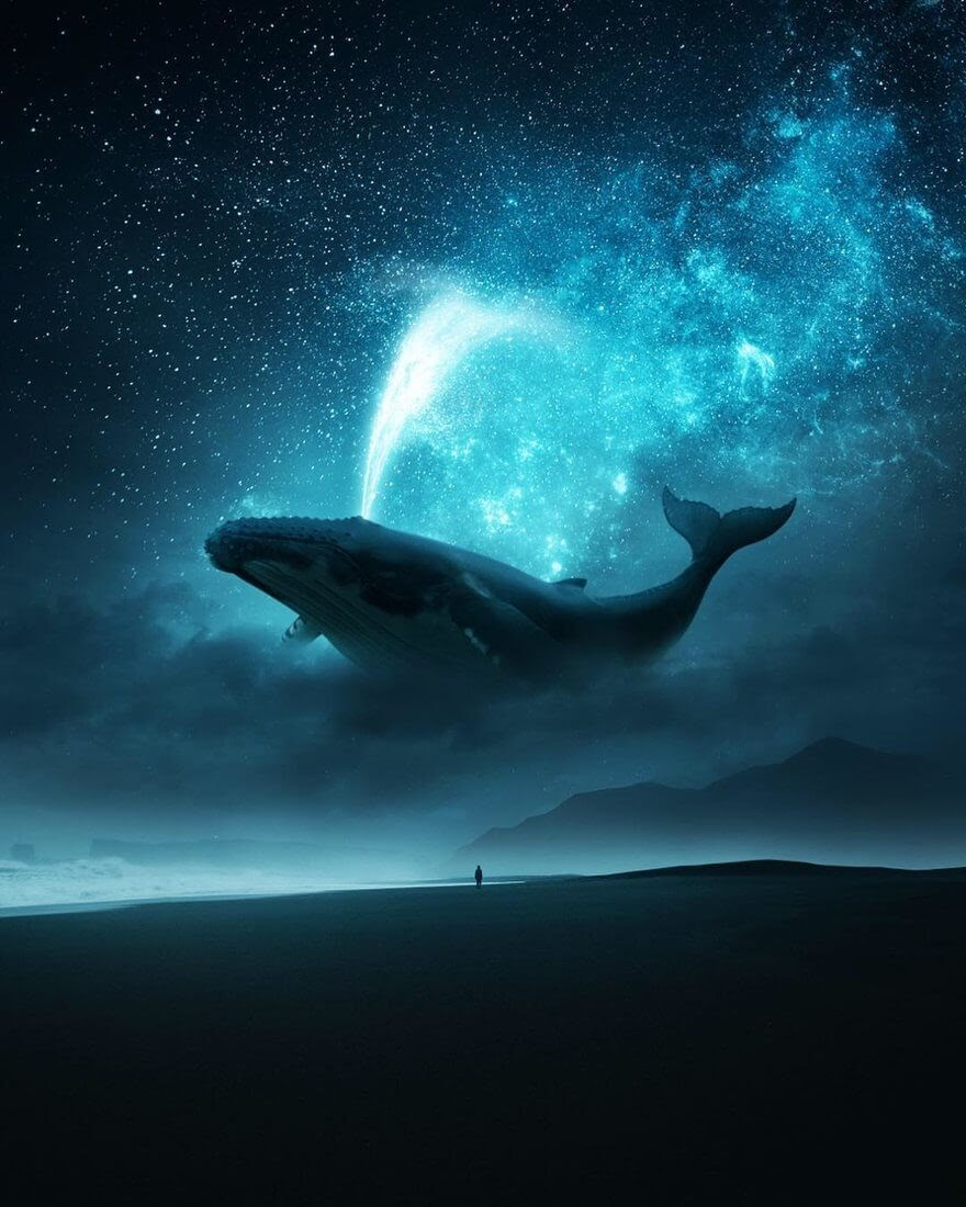 02-Birth-of-the-Milky-Way-Ted-Chin-Photos-of-Worlds-and-Realities-in-Surrealism-www-designstack-co