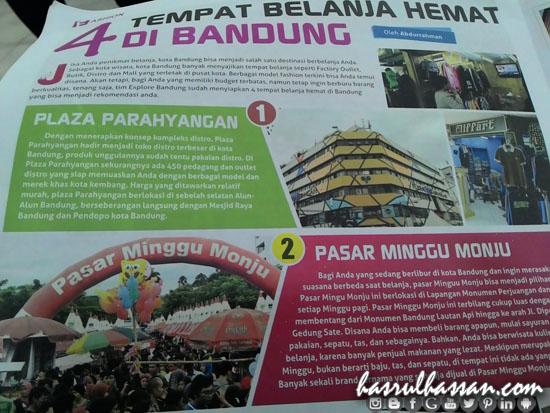 4 Tempat Shopping Jimat Bandung