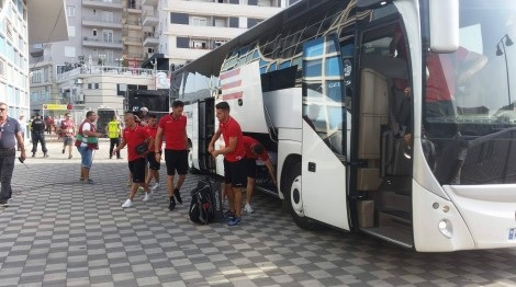 Fear of nationalist incidents in Macedonia - of Albanian National players increased